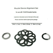 Spikes Tactical Muzzle Brake/Device Alignment Set/Shim Kit (1/2x28) SAF0001