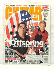 GUITAR WORLD MAGAZINE OFFSPRING GODSMACK BRIAN MAY OZZY YNGWIE MALMSTEEN THE WHO