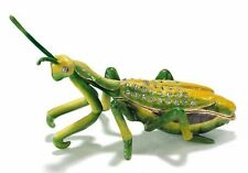 Praying Mantis Jeweled Pewter Trinket or Jewelry Box,Insect life