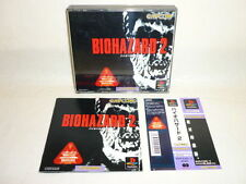 PS1 BIOHAZARD 2 Resident Evil with SPINE CARD * Playstation Japan p1