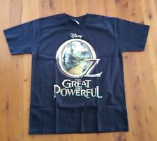 T Shirt Black Disney - Oz The Great and Powerful Tag size Large