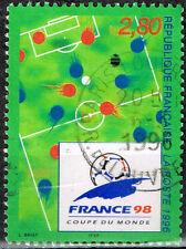France Soccer Footbol World Cup stamp 1998