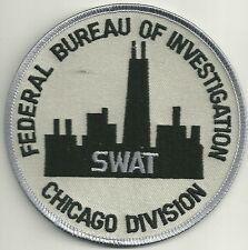 Fbi: chicago Division-SWAT S.W.A.T. Police Patch SEK policía Patch Skyline