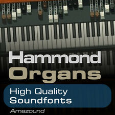 HAMMOND ORGAN SOUNDFONT COLLECTION 64 .sf2 FILES 1152 SAMPLES - BEST VALUE EVER