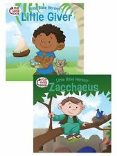 Little Bible Heroes(tm): The Little Giver/Zacchaeus Flip-Over Book by...