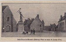 1912  --  SAINT PIERRE LE MOUSTIER  NIEVRE   3H374