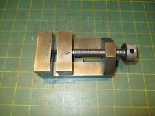 "MACHINIST TOOLS * TOOLMAKERS VISE * HARDENED * 2 3/8 W X 2"" D"