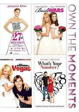 Whats Your Number/Bride Wars/27 Dresses/What Happens in Vegas DVD, 2014,...