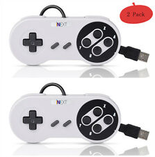 2 x SNES USB Retro Classic Gamepad Controller For PC/MAC Super Nintendo Gam