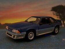 FOX BODY 1988 88 FORD MUSTANG GT 5.0 COLLECTIBLE MODEL - 1/64 SCALE DIORAMA