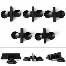 5pcs Plastic Divider Sheet Holder Suction Cup Black for Aquarium Fish Tank New