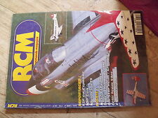 "$$ Revue RCM N°170 Plan gratuit ""Sunday""  Ju 52  Super chipmunk  Uni Star Heim"
