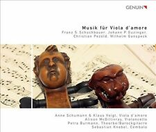 Musik Fur Viola Damore, New Music
