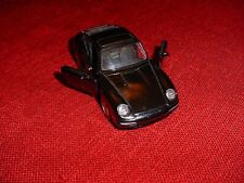 PORSCHE CARRERA MODEL CAR BLACK NEW SCALE APPROX: 1:43 VERY DETAILED ZYMOL WAXED