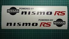 2 X Premium cast Nismo RS body side Decal Sticker compatible with Nissan Juke