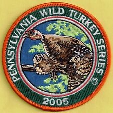 "Pa Game Commission Related Wilderness Editions 2005 4"" Hen Wild Turkey Patch"