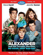 Alexander and the Terrible, Horrible, No Good, Very Bad Day- Blu-ray & Slipcover