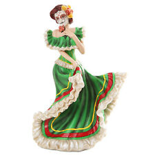 Dia de Los Muertos Bailadora Day Of The Dead Dancer DOD Catrina Saints Green