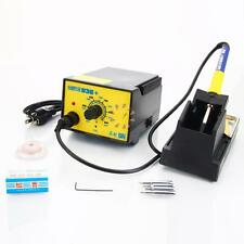 936+ 110V ESD SMD Rework Soldering Iron Station Welder Tool with Stand Tips New