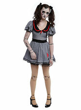 Hot Topic Wind Up Doll Costume Size M LIVING DOLL COSTUME