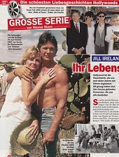 "Charles Bronson Jill Ireland ""Collection"" of intern. reporters and articles..."