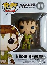 "NISSA REVANE Magic the Gathering Pop Magic 4"" inch Vinyl Figure #04 Funko 2014"