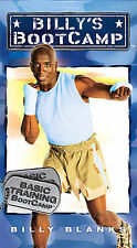 Billy's BootCamp: Basic Training Boot Camp [VHS] Billy Blanks VHS Tape