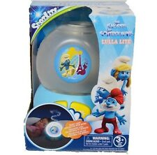 The Smurfs Kids Night Light Lamp with Music Children Soothing Toy Battery Op New
