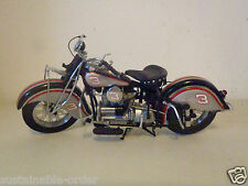 """The Franklin Mint 1942 Indian Motorcycle """"Dale Earnhardt Edition"""" Free Shipping"""