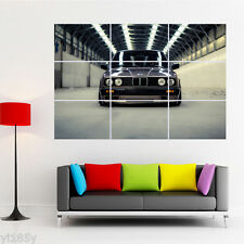 BMW E30 SPORT CAR Poster Large Print Giant Wall Art Room Decor G1