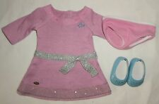 American Girl Doll Authentic Meet Dress Outfit Truly Me Just Like You