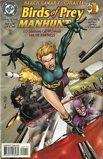 Birds of Prey Manhunt '96 1-4 VF Complete Run D3