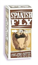 SPANISH FLY SEX DROPS STIMULATING COFFEE 1 FL OZ Take your fantasy of wild