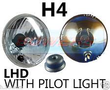 """5,75 """" 5 3/4"""" lhd voiture classique halogène phare projecteur Cristal H4 mise à niveau"""