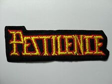PESTILENCE    EMBROIDERED PATCH