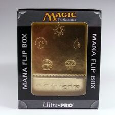 Deckbox Ultra Pro Magic MtG - Mana Flip Box Gold Deck Box goldfarben