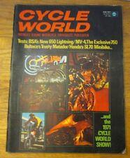 Cycle World Aug (August) 1971 BSA's new 650 Lightning, Bultaco, Honda