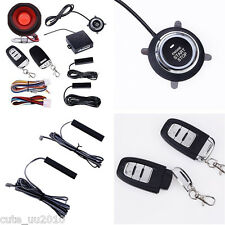 Hopping code Car Alarm System PKE-Passive Keyless Entry remote start push button