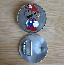 Mario Bros Nintendo cartoon belt buckle