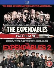 EXPENDABLES Part 1 2 Movie Bluray Collection New Brand New Sealed All Films