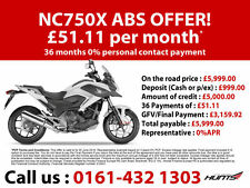 Honda NC750X. Brand New. LAST ONE AT THIS PRICE. £5,999 On The Road