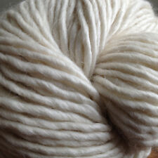 Baby Alpaca Merino Silk Yarn, Aran Weight, Undyed, Exclusive, Knitting, Weaving