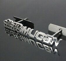 Black Metal Hood Front Grille Grill Badge Mugen Power Emblem For AC HO