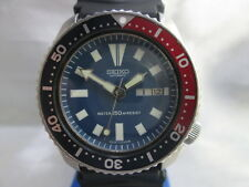 SEIKO 6309-7290 DAYDATE STAINLESS STEEL AUTOMATIC MENS DIVER WATCH