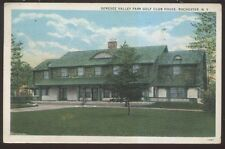 Postcard ROCHESTER New York/NY  Genesee Valley Golf Course Club House view 1920