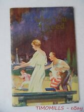 1932 WHAT YOU NEED Watchtower IBSA Rutherford Booklet with Color Covers MINT