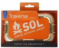 SOL Traverse Emergency Fire Blanket Whistle Tactical Survival Kit AMK 0140-1767