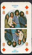 Monty Gum Card - 1970's Hitmakers Music Card - Music Group 10cc