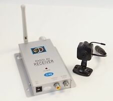 Mini Wireless Camera & Wireless Receiver 2.4Ghz - Hidden/ Nanny/ Security Camera