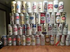 Large Lot of 47 Beer Cans 14 oz & 16 oz Rheingold Narragansett Lucky Lager